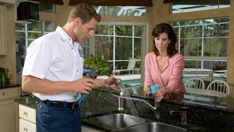 Local plumbers in Valley Village, CA, can upgrade your kitchen and bathroom fixtures today!